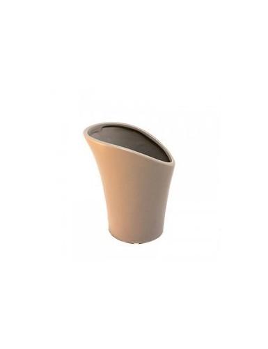 Vase gris - ouverture large